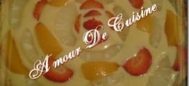 tarte aux fruits qui devait etre une tarte au kiwi