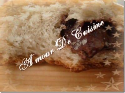 Encore ….. des petits pains au chocolat.