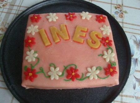 c'est l'anniversaire de Ines