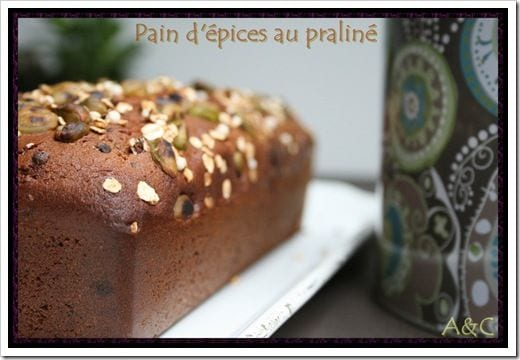 Pain d'épice au praliné (1)
