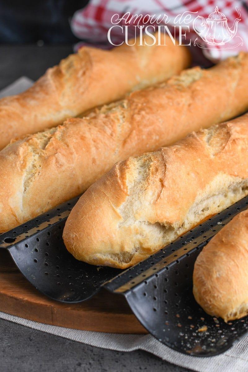 recette de la baguette française