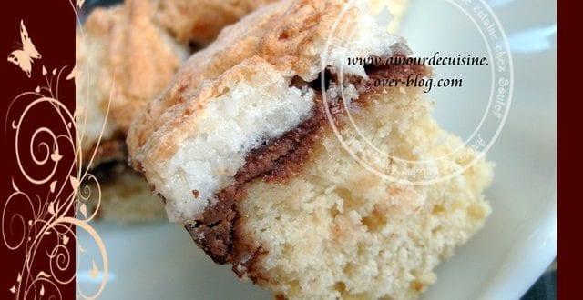carrés noix de coco /chocolat de rachida amahouche