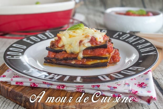 Millefeuille D Aubergines Amour De Cuisine