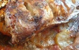 Vivaneau au four, recette de poisson rouge au four