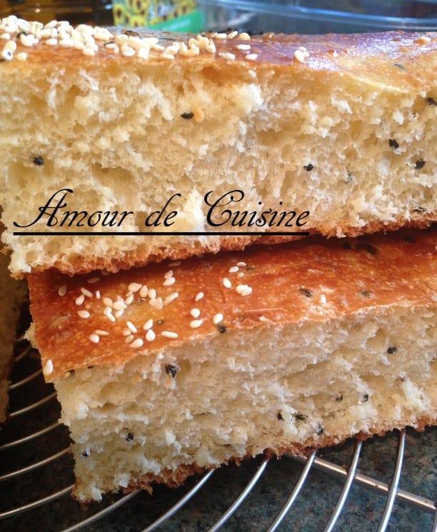 Khobz eddar Constantinois au Beurre pain maison Aïd