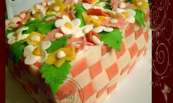 la recette du jardin fleuri…. mon gâteau d'anniversaire