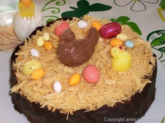 Trianon au chocolat et Qataïfs de Meriame