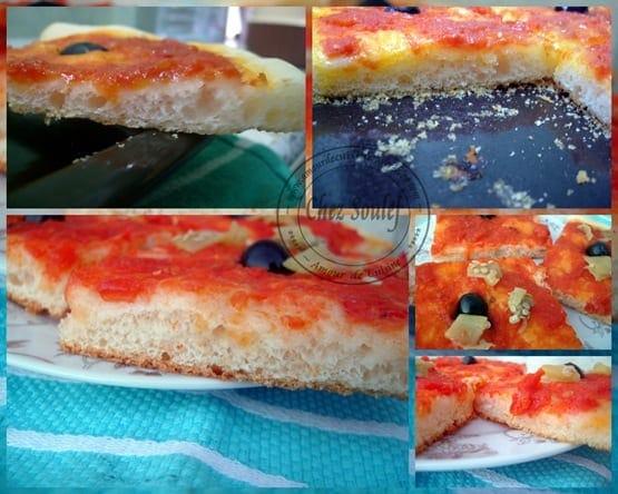pâte a pizza maison moelleuse et croustillante
