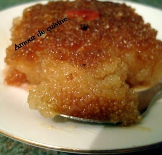 Qalb el louz kalb elouz gateau coeur d 39 amandes for 1 amour de cuisine