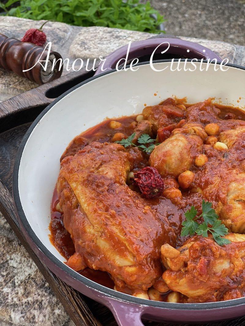 chtitha djedj de la cuisine algerienne