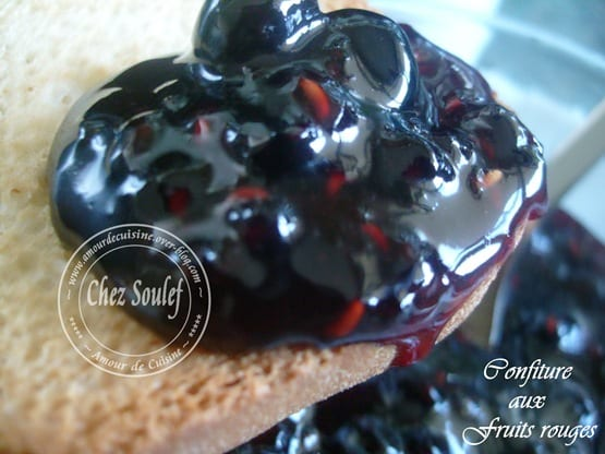 confiture de fruits rouges 3