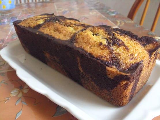 cake orange chocolat