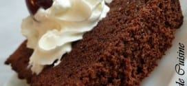 cake cacao Babeurre, lben