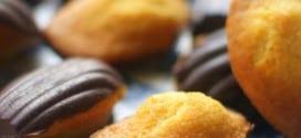 les madeleines a la coque en chocolat