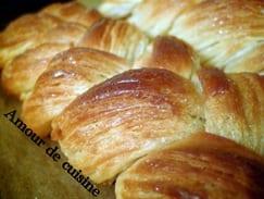 Les craquelins, pains briochés feuilletés tressés