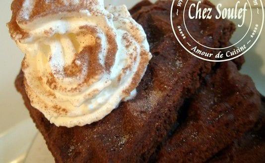 des gaufres au chocolat……non, cacao