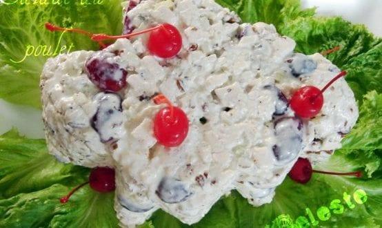 Salade au poulet de Celeste