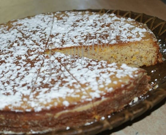 gateau a l'orange sans gluten