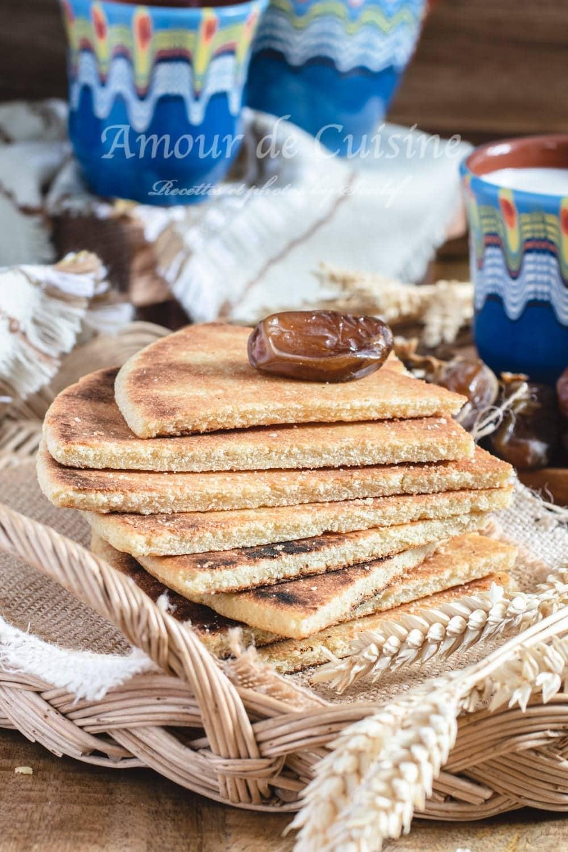 galette à l'huile ou kesra mbessa