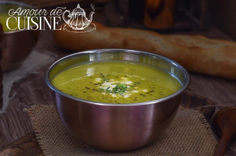 soupe ou velouté de petits pois 2