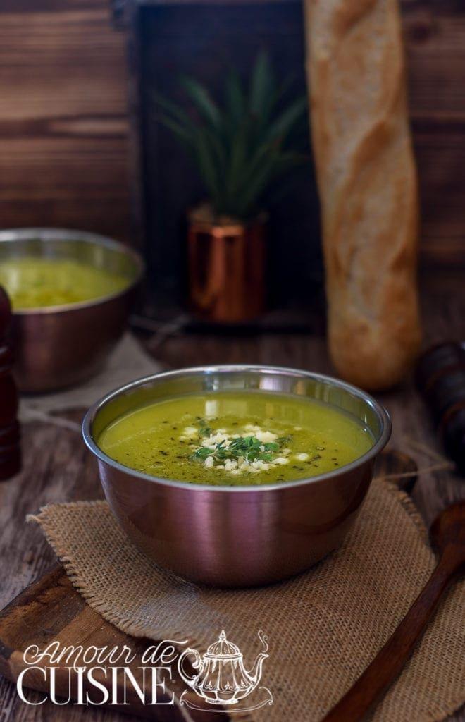 soupe ou velouté de petits pois 1