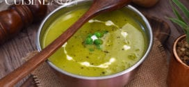 soupe Velouté de petits pois