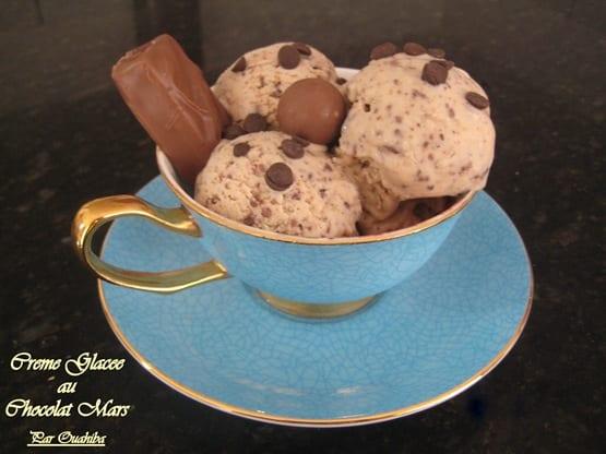 creme glacee chocolat