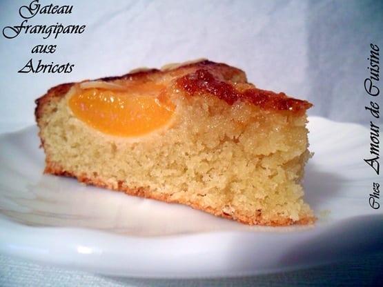 Gateau Frangipane aux abricots