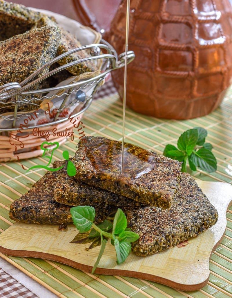 galette kabyle à la menthe 4
