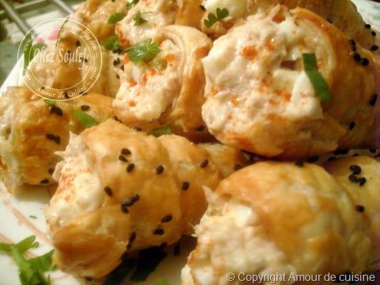 Préférence cornets salés a la crème au thon - Amour de cuisine KH07