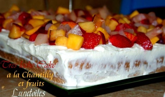 tres leches Cake a la chantilly et fruits-2.JPG