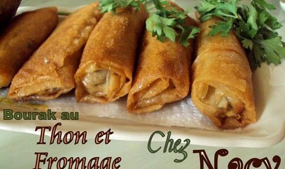 Bourak au thon et Fromage