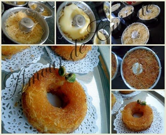Mini konafa, ktayefs a la creme dessert ramadan 2017 1