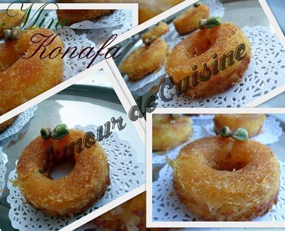 Mini konafa ktayefs a la creme dessert ramadan 2017 for 1 amour de cuisine chez soulef