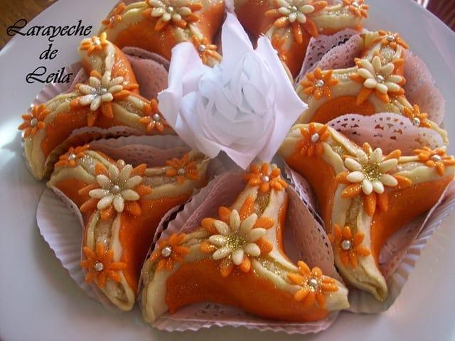arayeche au miel, gateau algerien