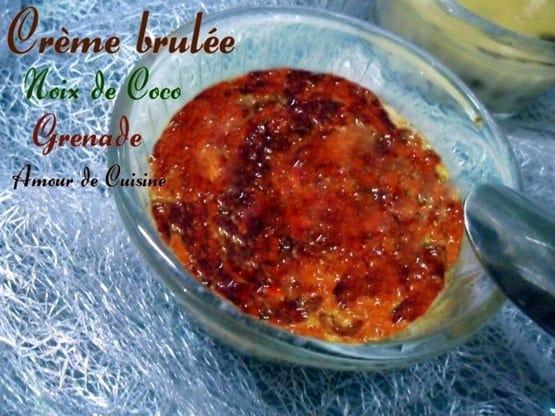 creme brulee noix de coco grenade 1