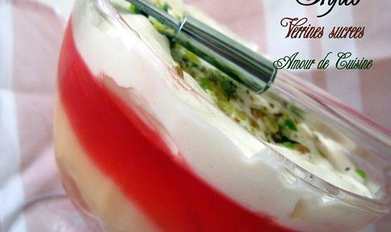trifles – dessert anglais – verrines sucrées