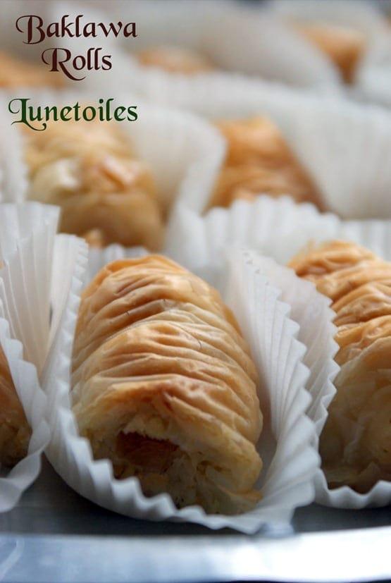 baklawa rolls - Baklava rolls