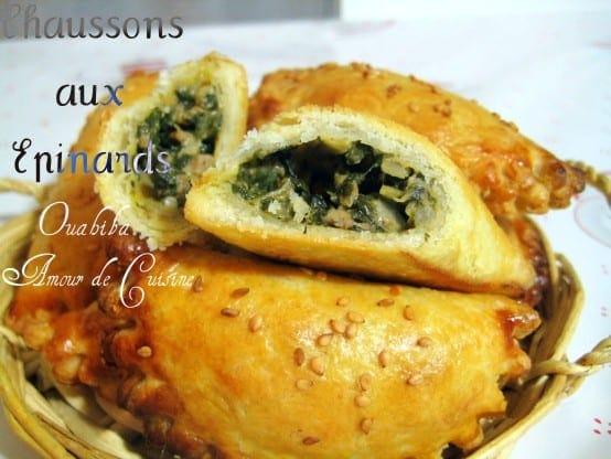 Chausson aux epinards amour de cuisine - Belle cuisine algerie ...