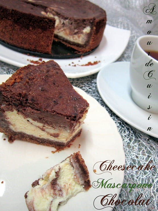 cheesecake mascarpone chocolat 011
