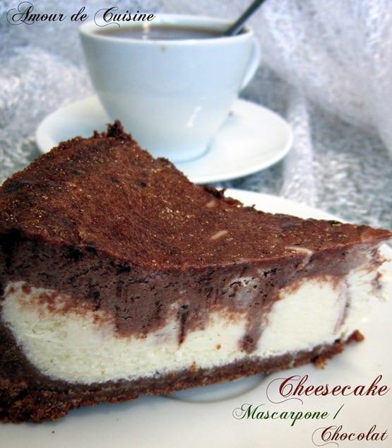 Cheesecake mascarpone chocolat amour de cuisine - Cuisine au mascarpone ...