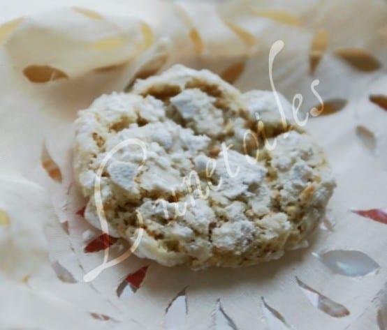 Ghoriba aux amandes et sésames  recette de Choumicha