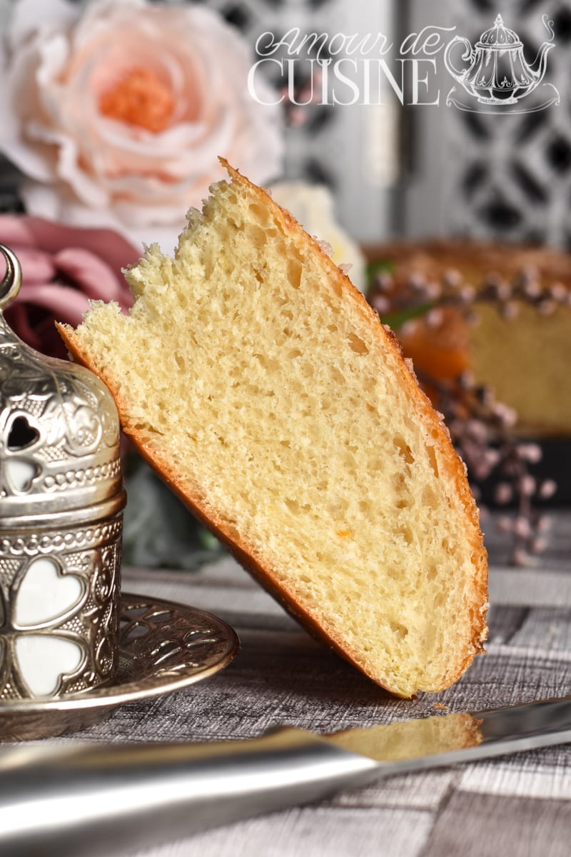 brioche la mona ( la mouna) brioche algerienne