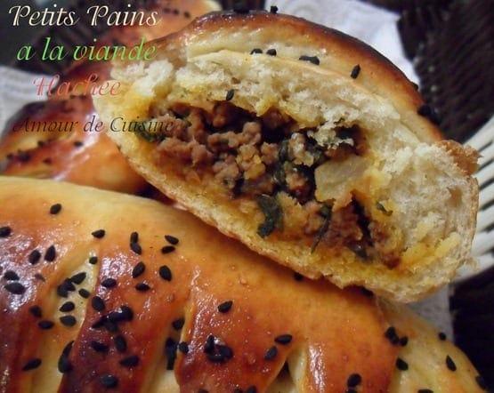 Petits pains a la viande hachee amour de cuisine - Recette de cuisine tunisienne pour le ramadan ...