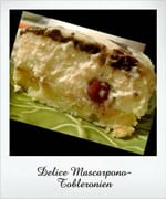 delice mascarpone toblerone