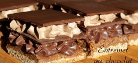 entremet au chocolat au lait de Pierre Hermé