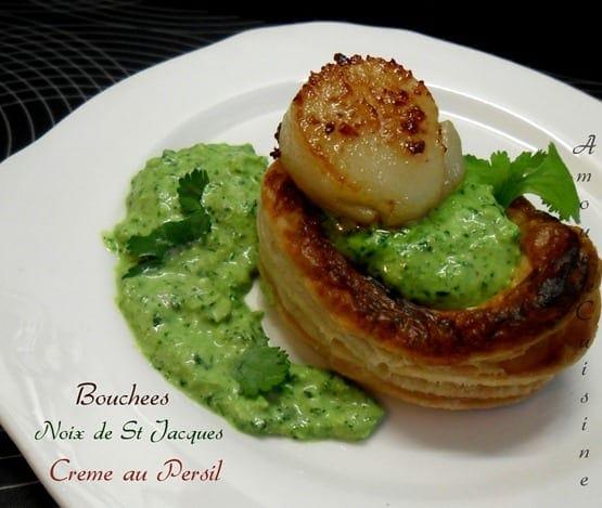 Saint jacques au beurre au persil et ail amour de cuisine - Comment cuisiner des noix de saint jacques ...