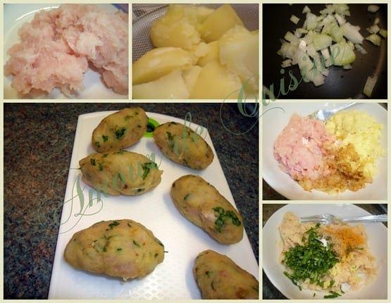 2012-02-22 quenelles de pomme de terre et poulet