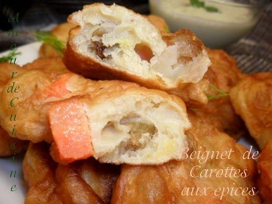 beignets epices aux carottes 166