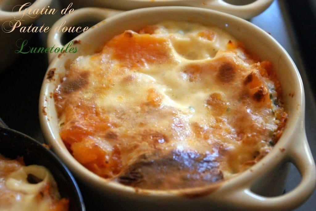 Petits Gratins De Patate Douce Amour De Cuisine - Cuisiner les patates douces